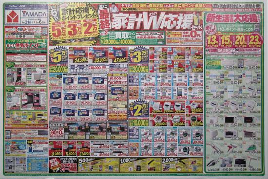ヤマダ電機 チラシ発行日:2015/1/31