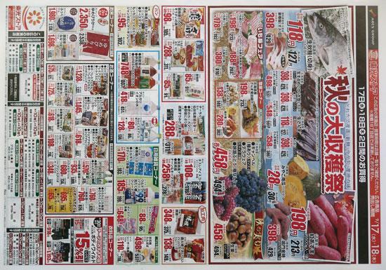 東光ストア チラシ発行日:2014/9/17