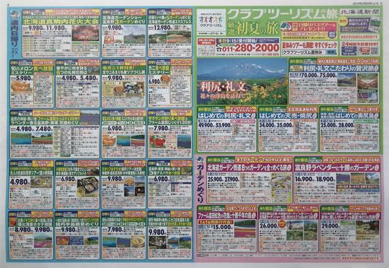 クラブツーリズム チラシ発行日:2015/5/23
