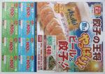 餃子の王将 チラシ発行日:2015/6/5