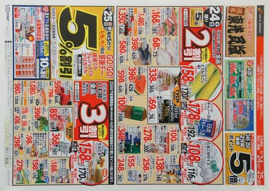 東光ストア チラシ発行日:2017/6/24