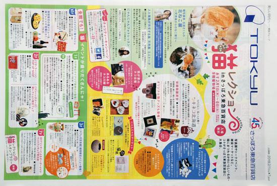 東急百貨店 チラシ発行日:2018/2/1
