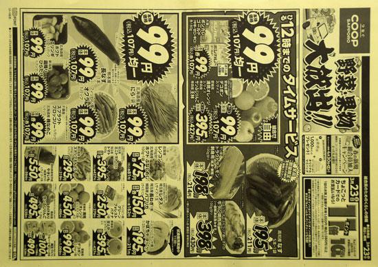 コープさっぽろ チラシ発行日:2019/3/23